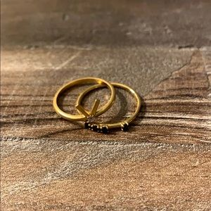 Madewell ring stack